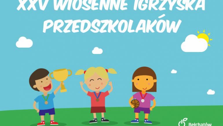 XXV Wiosenne Igrzyska Przedszkolaków
