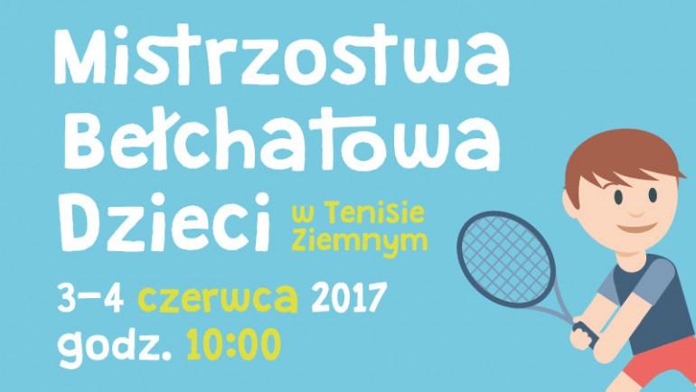 Mistrzostwa Bełchatowa Dzieci w tenisie ziemnym