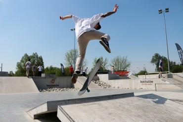 Wirtuozi deskorolki na Skateplazie