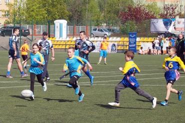 Szkolne zawody Rugby Tag
