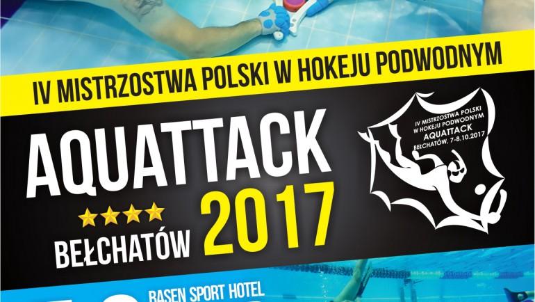 "IV Mistrzostwa Polski w Hokeju Podwodnym ""AQUATTACK 2017"""