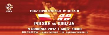 Polska – Gruzja już 4 grudnia