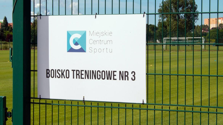 Miasto planuje remonty wokół boisk treningowych