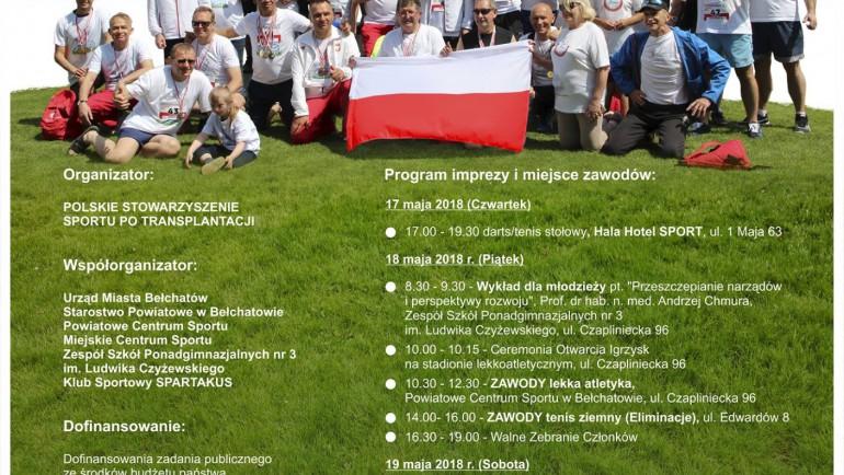 Turniej tenisa ziemnego dla osób po transplantacji