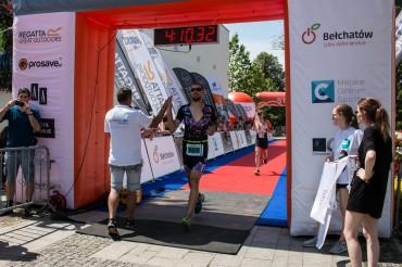 Bełchatów w centrum triathlonowej rywalizacji