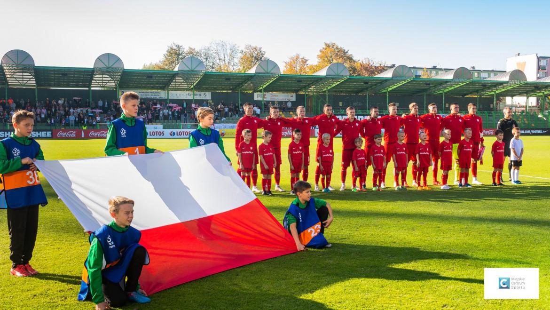 Polska wygrywa na Stadionie Miejskim